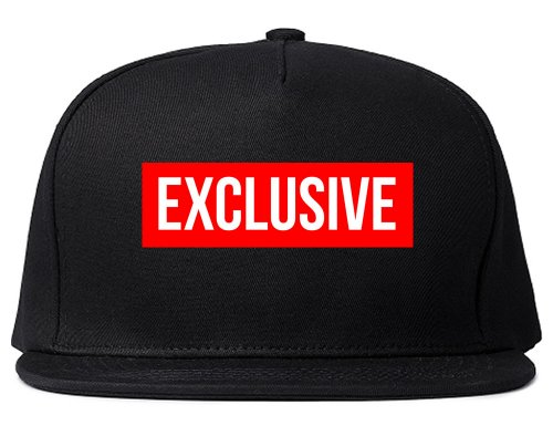 King Of NY Exclusive Snapback Red Box New York Hat Logo Cap - Snapbacks Exclusive