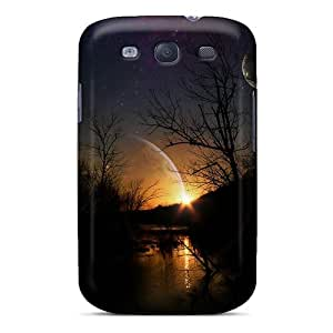 Galaxy S3 Case Cover Skin : Premium High Quality Universal Sunset Case