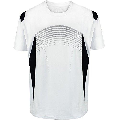 UV Sun Protection Sport T Shirts for Men Short Sleeve Athletic Tee White