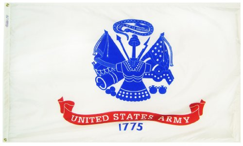 Annin Flagmakers Model 439035 U.S. Army Military Flag 3x5 ft