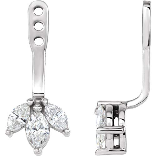 14k White Gold 1/4 CTW...