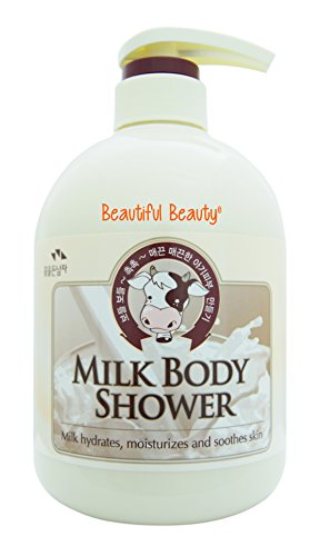 - Somang Milk Body Shower 750ml (Milk Hydrates, Moisturizes and Soothes Skin)