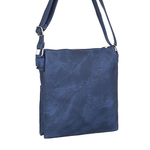 Ital-DesignSchultertasche Bei Ital-design - Bolso de hombro Mujer azul oscuro