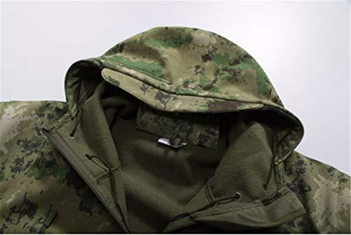 Fodera Fodera Fodera Militare Black Tattico Mimetica WEIYOUYO Giacca Impermeabile Uomo Uomo Uomo Esterna Morbida Da Esterna FwXPSzq1
