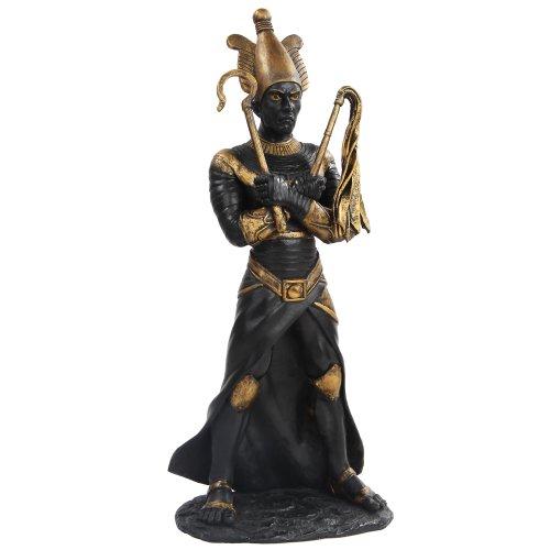 Egyptian God Statues (11 Inch Egyptian Osiris Mythological God Resin Statue Figurine)