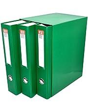 MP PC171-07 - Pack de 3 archivadores, color verde
