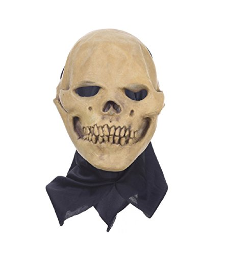 Lace Morticia Costume (New Fancy Dress Party Cosplay Costume Mask Horrifying Skull Monster Adult Latex)