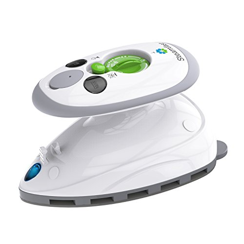 Steamfast Mini Travel Steam Iron with Dual Voltage, 1-Pack, White