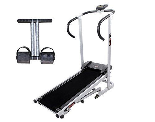 Lifeline Treadmill Machine for Walking and Running at Home| Bonus Tummy Trimmer for Stomach Exercise