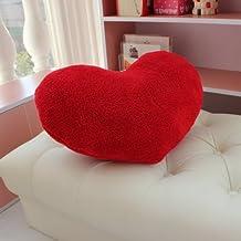 Cyqun TM Valentine's Day Love Heart Pillow (Red)