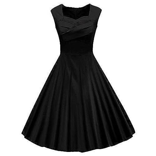 Plus Size 50s Style Swing Dresses Amazon
