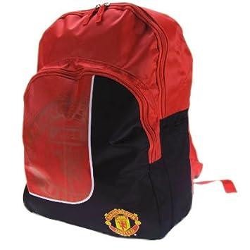 beb5534876e Manchester United FC Backpack School Bag Sports Bag - Football Gifts:  Amazon.co.uk: Luggage