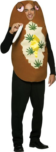 Totally Baked Potato Costume - One Size - Chest Size 42-48