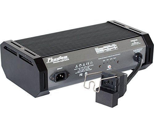 Phantom II, PHB2010 1000W Digital Ballast for MH or HPS Grow Lights, 120/240V...