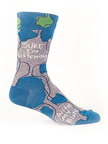 Blue Sure Listening Butt Socks product image