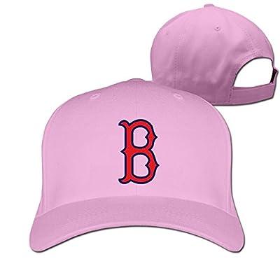 CUG Boston Red Sox ICE Logo Adjustable Solid Baseball Hat Pink