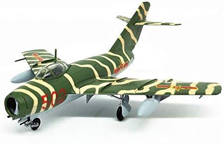 1/72スケール戦闘機モデル、軍事ミグ15 PLAAFプラスチックファイターモデル、アダルトグッズやギフト、5.5Inch X