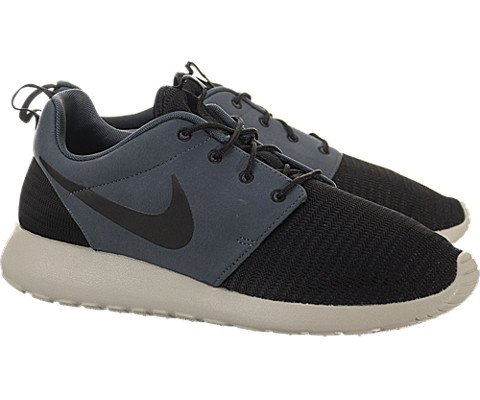 reputable site ee045 340f7 Nike Roshe Run - Black   Black-Dark Magnet Grey-Garnet, 12 D US - Buy  Online in Oman.   Shoes Products in Oman - See Prices, Reviews and Free  Delivery in ...