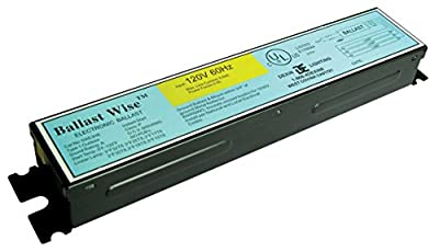 BallastWise DXE3H8 Ballast with Wires to Operate 3 F32T8 4FT Tubes 120V (1 ct)