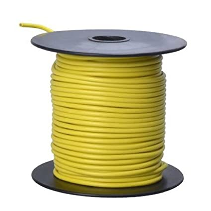 Coleman Cable 16-100-14 Primary Wire, 16-Gauge 100-Feet Bulk Spool ...