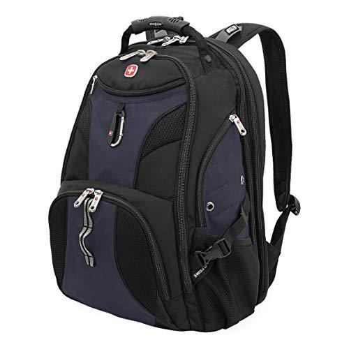 SWISSGEAR Travel Gear 1900 Scansmart TSA Friendly Laptop Backpack Black/Noir Satin
