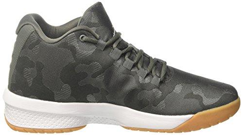 Mens Nike Jordan Basket Skor B.fly Rock / Flod / Stuckatur / Mörker / Vit