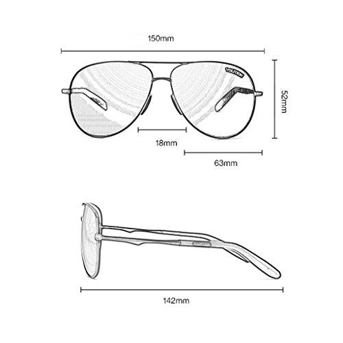 Polarizadas Color Conducción Rana De Personalidad Gafas Sol Hombre Persona A De Conductor G Del GAOYANG La Decoloración Oscuras Espejo Gafas Espejo Hd Húmedo xaqwzWRY