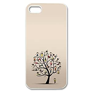 Yoga Girl Tree logo for iPhone 5/5s hard back case BY supermalls