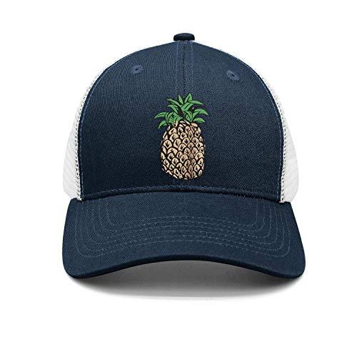 State Pittsburg Cap (Unisex Pineapple Design Cartoon Art Cap Designer Strapback Hat)