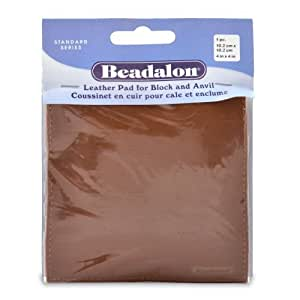 Beadalon Leather Pad for Block and Anvil by Beadalon