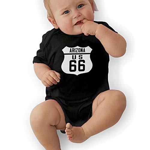 (Route 66 Arizona Road Sign Family Newborn Romper Bodysuit)