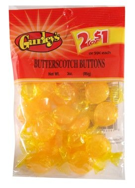 Gurleys Butterscotch Buttons Candy by Gurley's