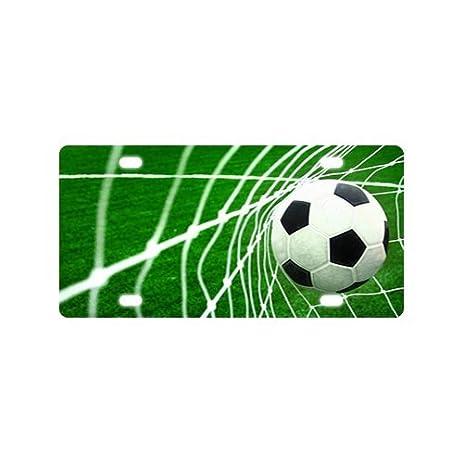 Amazon.com : Fashion Cool Soccer Football Art Car Accessories Metal ...