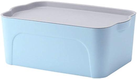 GAOLE Caja de Almacenamiento de plástico Grande Medianas y ...