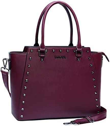 Briefcase Resistant Leather Computer Burgundy product image