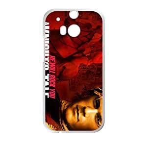 He Will Rock You Fashion Comstom Plastic case cover For HTC One M8