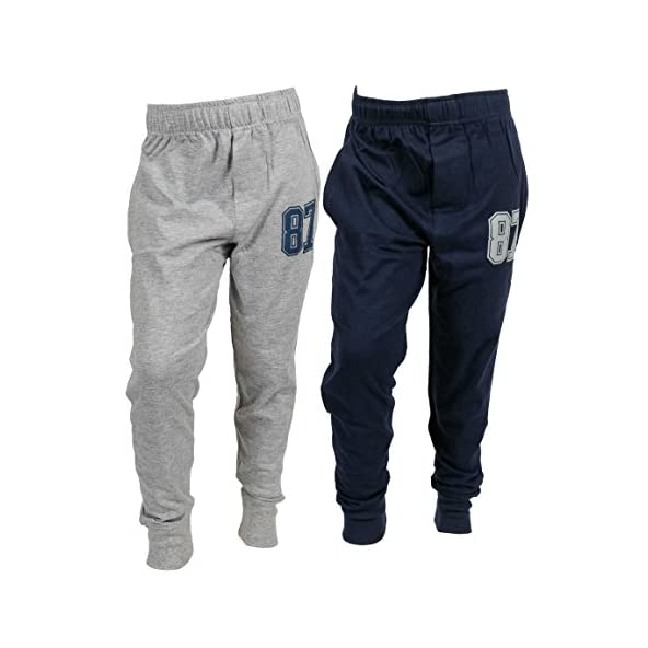 ABITO Track Pant for Boys 4-15 Years Smart Joggers Pack of 2