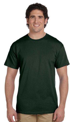 Fruit of the Loom mens 5 oz. 100% Heavy Cotton HD T-Shirt-FO