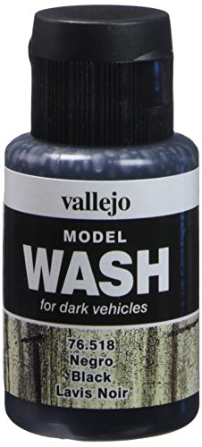 Vallejo Black Wash, 35ml (Acrylic Wash)