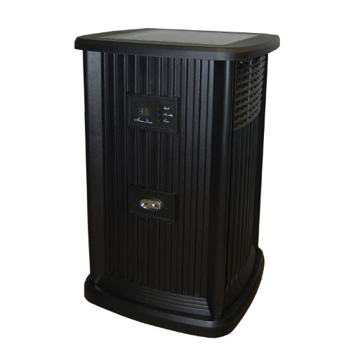 Essick Air EP9 700 Digital Whole-House Pedestal-Style Evaporative Humidifier, Black