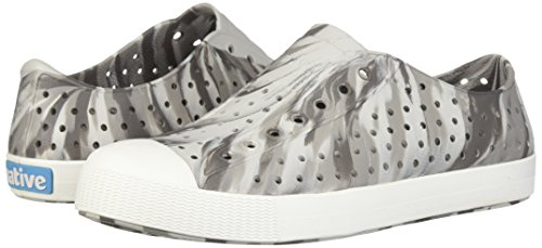 Native Kids Marbled Jefferson Water Proof Shoes, Dublin Grey/Shell White/Marbled, 5 Medium US Big Kid by Native Shoes (Image #6)
