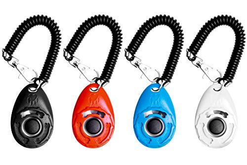 EcoCity Upgrade Version Dog Training Clicker with Wrist Strap