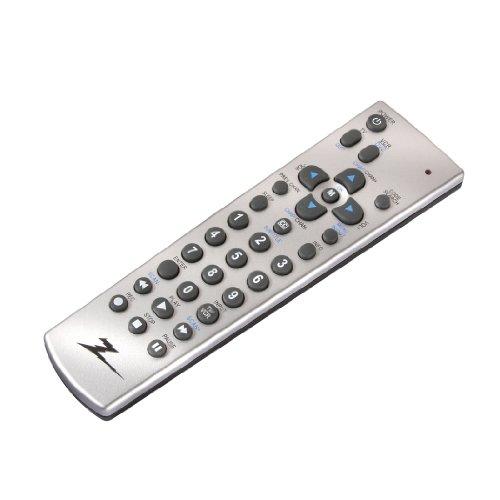 AmerTac - Zenith ZH210 2 Device Universal Remote Control, TV, DVD/VCR - Silver