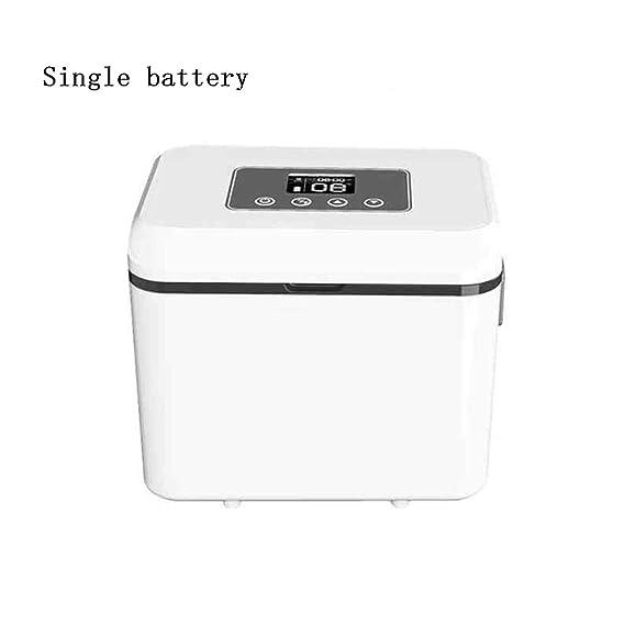 Insulin Interferon Refrigerator Portátil Car Mini Refrigerator Refrigeration Charging (Solo batería): Amazon.es: Hogar