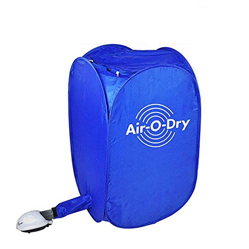 Electric Air Clothes Dryer Mini Blue Fast Drying Machine 800