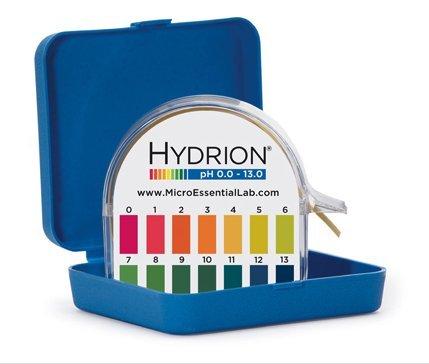 MICRO ESSENTIAL LABORATORY HJ613 pH Paper Dispenser, 1/2'' W x 50ft L (Pack of 10)