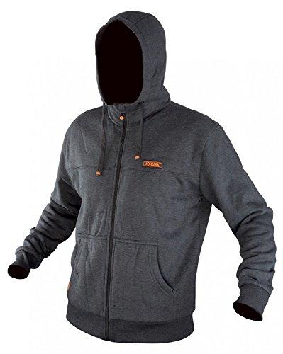Fox Chunk Heavy Hoody Black Marl giacca