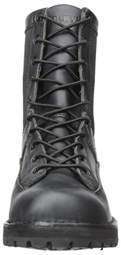 Rocky Mens 8 Inch Portland 2080 Work Boot Black FhTsR