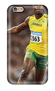 Hot PC Cover Case For Iphone/ 6 Case Cover Skin - Usain Bolt Running