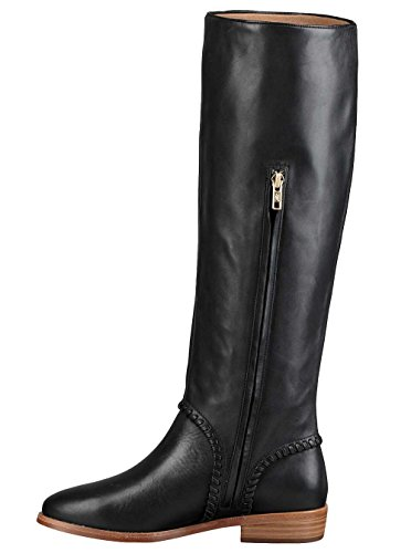 UGG Womens gracen Whipstitch Riding Boot Black Size 7